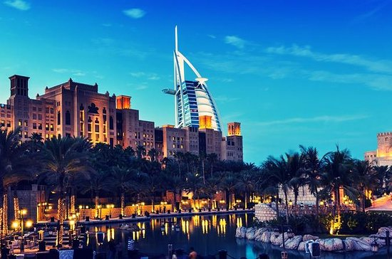 Dubai: Magical Tour with Burj Al Arab Lunch, Burj Khalifa & Aquarium ...