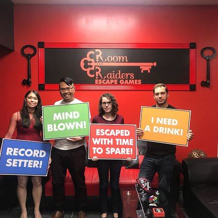 Room Raiders Escape Games. An immersive escape Room experience ...