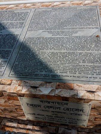 Bangladesh: Read the history.