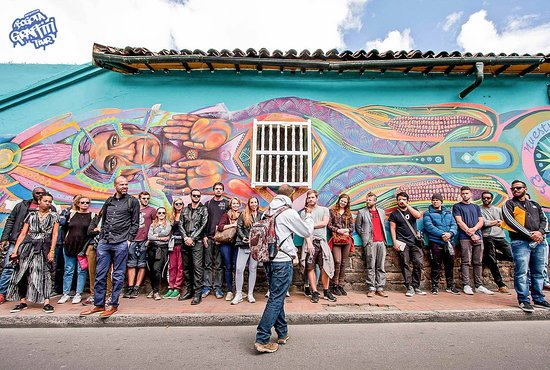 The Original Bogota Graffiti Tour