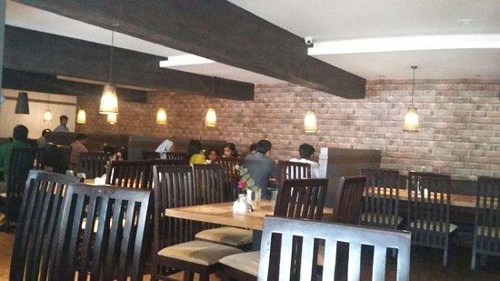 Ayush Veg: Well designed spacious Dining Area in 1st floor