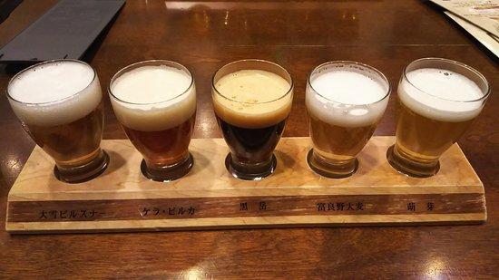 Taisetsujibirukan: ビールのみくらべ