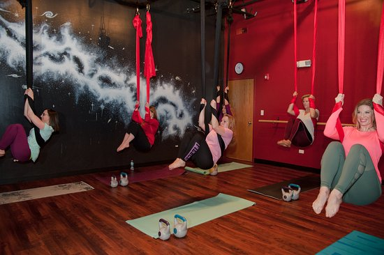 Studio Phoenix: Build your strength with Hammock HIIT... an intense strength and cardio class.