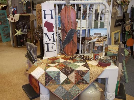 Black River Falls, Ουισκόνσιν: Amy's Homemade Crafts and Treasures