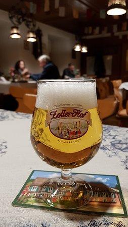 Stuehlingen, Tyskland: sehr leckeres Bier