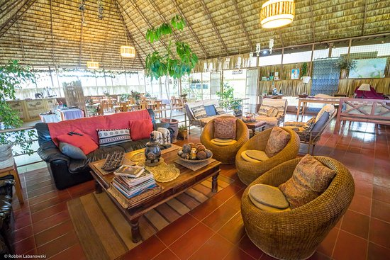 Meru National Park, Kenya: Guest lounge
