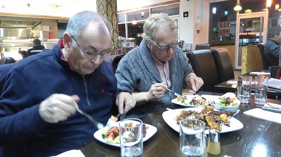 Istanbul Restaurant: The sharing platter