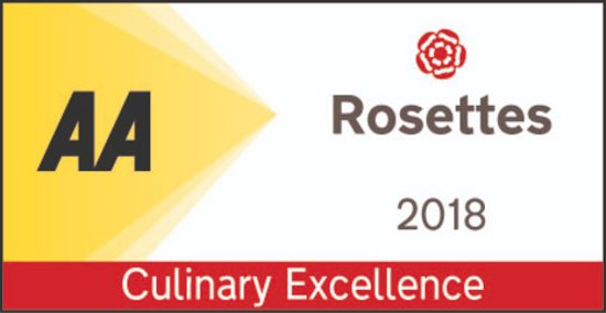 Kings Head Hotel Restaurant: AA Award for Culinary Excellence