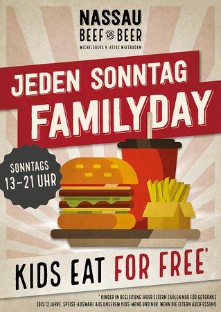 Jeden Sonntag Family Day Kinder In Begleitung Eines