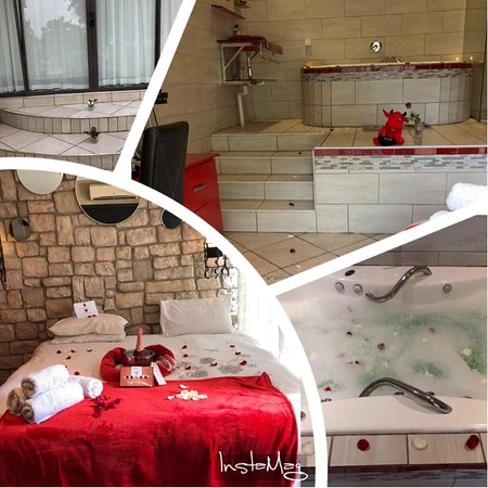 Benoni, South Africa: Our perfect Jacuzzi room