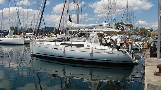 Palaia Fokaia, กรีซ: S/Y Boheme is an excelent maintened sailing boat for daily and not only sailing cruises