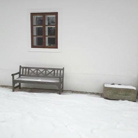 Celadna, Czech Republic: mrazivý onec února