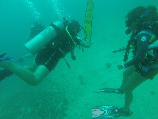 Manta Dive Gili Air: Kiki ever watching and helpful!