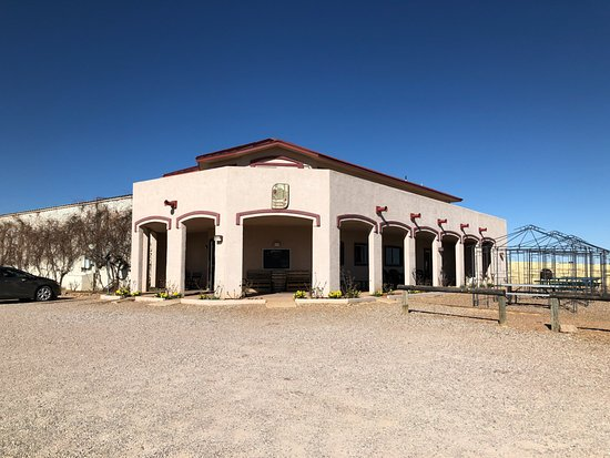 Sonoita Vineyards: The tasting room