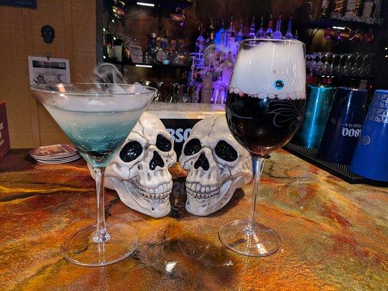 Berkeley Springs, WV: Halloween fun with dry ice