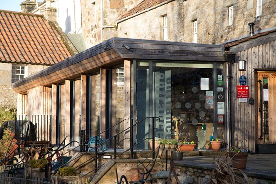 Ceres, UK: Fife Folk Museum entrance