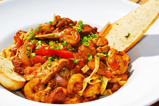 Silverdale, WA: If you love dishes with a good kick, try our Jambalaya Fettuccine!