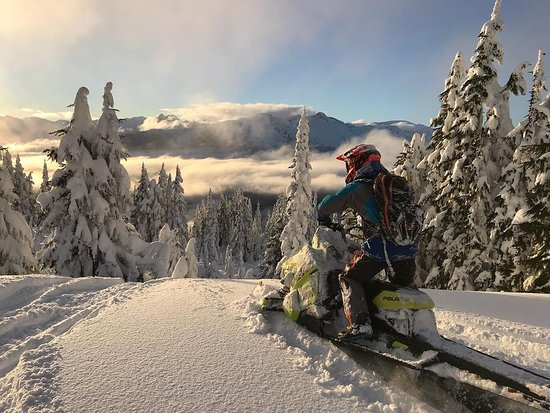 Pemberton, Canada: Dropping in to mid winter conditions here