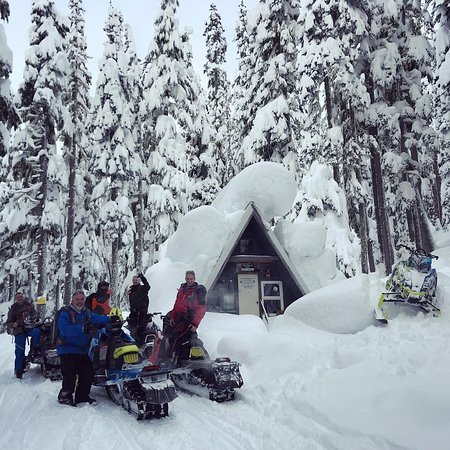 Pemberton, Canada: Team MASS may not have seen much sun but they have seen the deepest snow of their life!