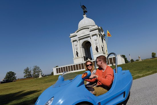 Gettysburg, PA: Tour the battlefield in a Scoot Coupe!