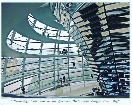 toured the german parliament house in berlin bundestag a