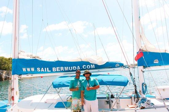 Sail Bermuda Private Charters: Happy Crew! :0)