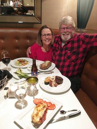 Jackpot, NV: Anniversary dinner at 36 Steak & Seafood