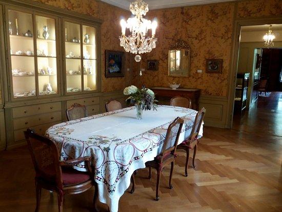 Kronleuchter Esszimmer Museum Langmatt - Bild von Museum Langmatt ...