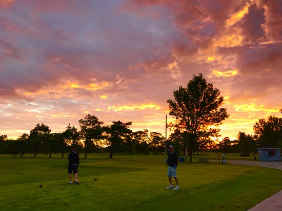 Bruce County, Kanada: sunset golf