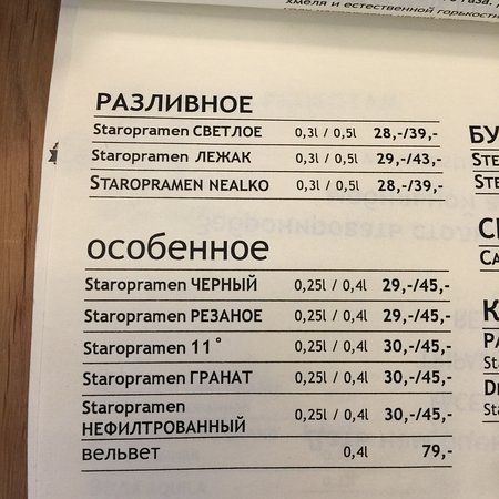 Superb restaurant and bar. – Bild från Potrefena Husa Na Verandach, Prag - Tripadvisor