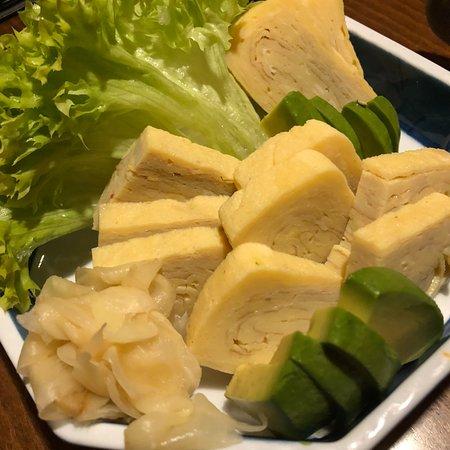 Sushi am Main: Tamago sashimi galore