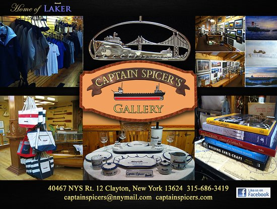 Clayton, Estado de Nueva York: Captain Spicer's Gallery