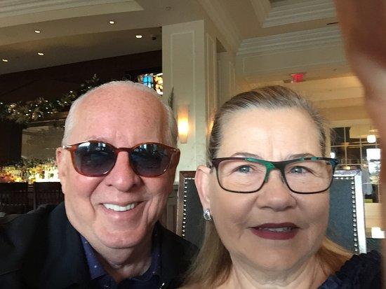 Waldorf Astoria Orlando: Enjoying our moments there