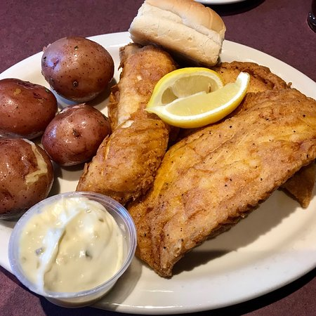 Manchester, MI: Fish Dinner (the Thursday and Friday version).