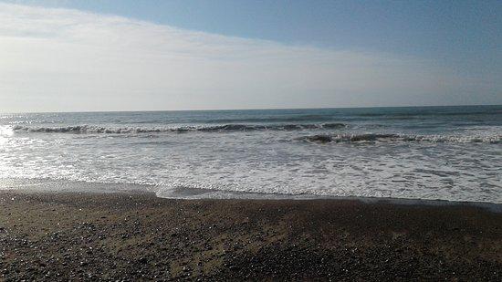 Playa Union, en Puerto Rawson, Chubut, es una ciudad  balnearia hermosa