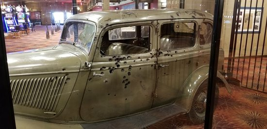 "Whiskey Pete's Hotel & Casino: Bonnie and Clyde's 'DEATH CAR"". They didn't stand a chance"