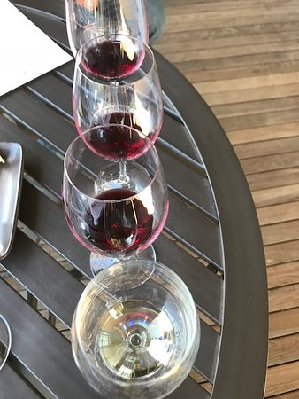 Rutherford, CA: Wine tasting flight