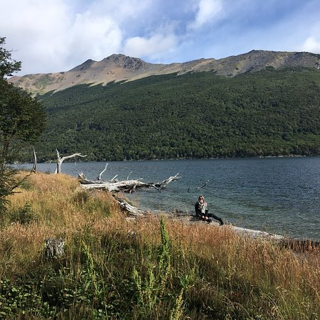 Lago escondido!