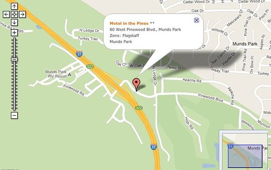 Munds Park, AZ: Map