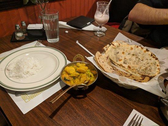 American Fork, UT: Vegan dish and some nan