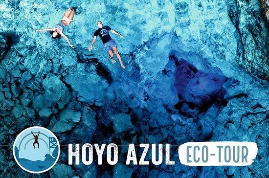 Visita al cenote Hoyo Azul en Scape...