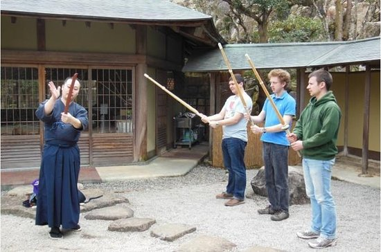 Experience Shodo and Kendo at...