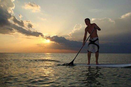 2 Hour Sunset Paddle Board Rental