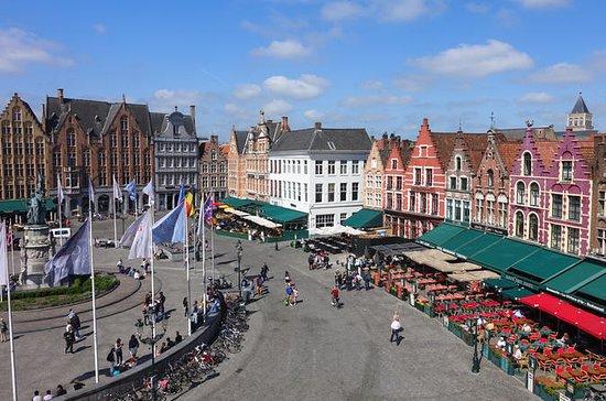 Día completo de excursión de un día a Brujas desde Ámsterdam