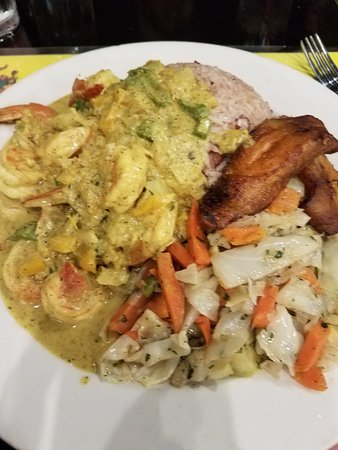 Cool Runnings Jamaican Grill: Curry Shrimp