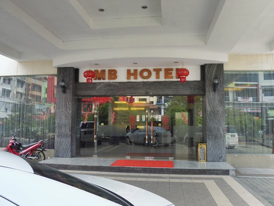 Entrance of MB Hotel
