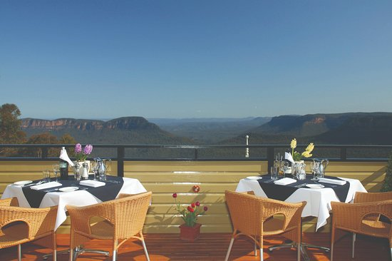 Echoes Restaurant - Blue Mountains: Echoes Terrace Seat