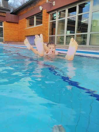 Thermal Spa Aquae Vivae: children enjoy