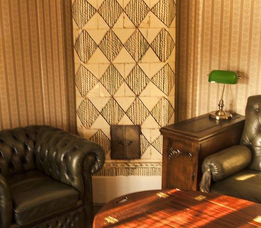 Gästgifveriets lilla Lounge är en uppskattad samlingspunkt för våra nattgäster som vill  umgås.