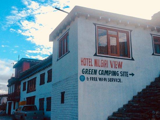 Hotel Nilgiri View in Kagbeni Mustang